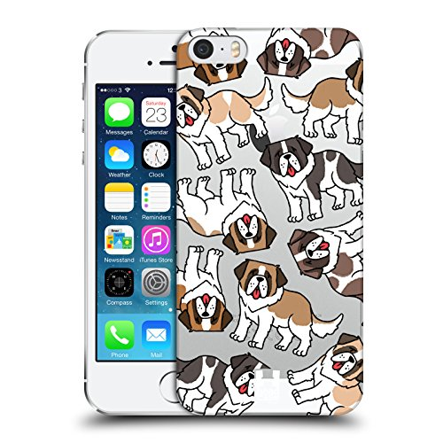 Head Case Designs Labrador Retriever Hunderasse Muster 2 Ruckseite Hülle für Apple iPhone 6 / 6s Bernhardiner