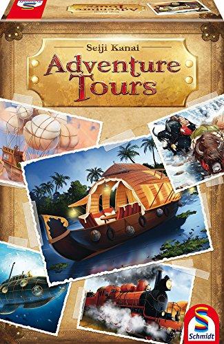 Schmidt Spiele - 49302 - Jeu De Cartes - Adventure Tours