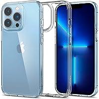 Spigen Ultra Hybrid Kompatibel mit iPhone 13 Pro Hülle [Anti-Yellowing] Handyhülle dünn transparent hardcase silikon…
