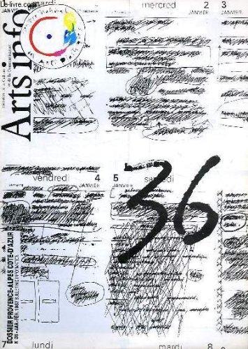 Plastique 36 (ARTS INFO, N° 36, JAN.-FEV. 1987)