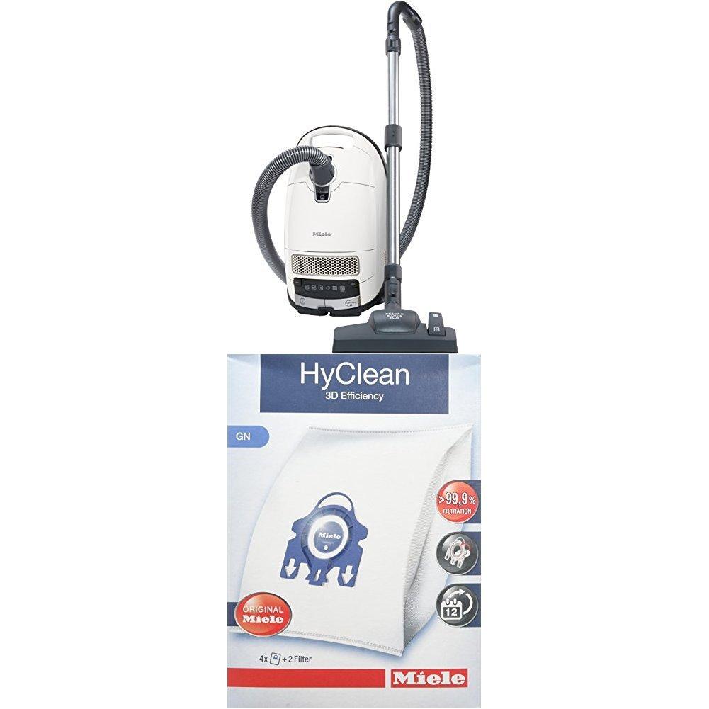 Miele Complete C3 Excellence EcoLine Staubsauger (4.5 L, 550 W) + 9917730 Staubbeutel HyClean 3D, Inhalt: 4 Staubbeutel…