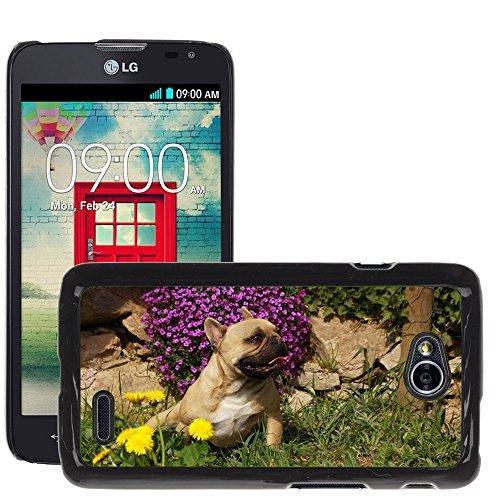 Nur Handy HOT Style Handy PC Hard Case Cover//m00138813Hund Bulldog//LG Optimus L70MS323