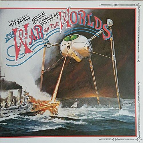 WAR OF THE WORLDS LP UK CBS 1978