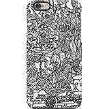 april® Funda carcasa para iPhone 6 6S estampado black and white story