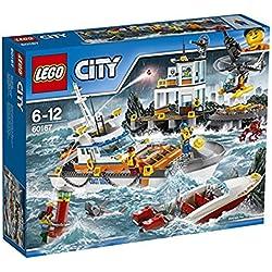 LEGO City - Guardacostas: Cuartel general