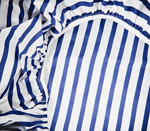 Vizaro - BEZUG für Wickeltischauflage des Babys/verstellbar 50x70 cm - 100% BAUMWOLE - Hergestellt in der EU - SICHERES PRODUKT - K. Schiffchen