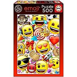 Educa Borrás - 500 Emoji, Puzzle (17088)