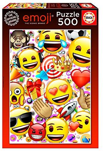 emoji puzzle Educa Borrás–17088.0–Puzzle–Emoji–500Teile