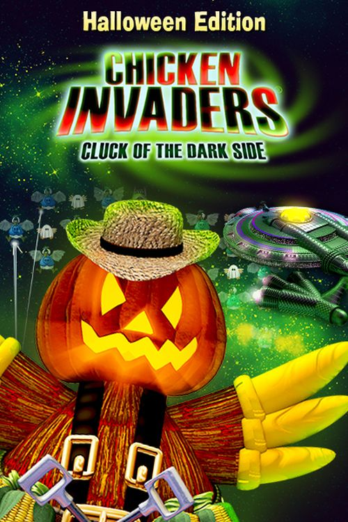 Chicken Invaders 5: Cluck of the Dark Side Halloween Edition [PC Download]