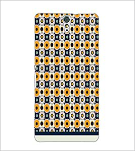 PrintDhaba Pattern D-1988 Back Case Cover for SONY XPERIA C5 ULTRA (Multi-Coloured)