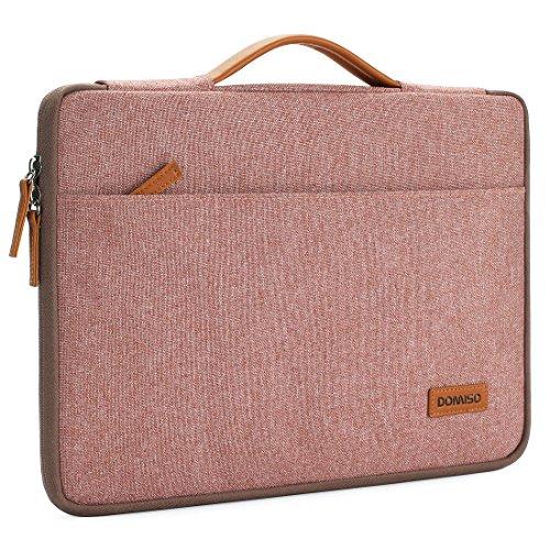 DOMISO 15.6 zoll Laptop Hülle Etui Notebook Tasche Handtasche Abdeckung für 15.6