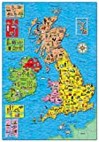 Enlarge toy image: Orchard Toys Great Britain & Ireland Map Jigsaw Puzzle