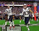 The Poster Corp New England Patriots Team Introduction Super Bowl XLIX Photo Print (27,94 x 35,56 cm)