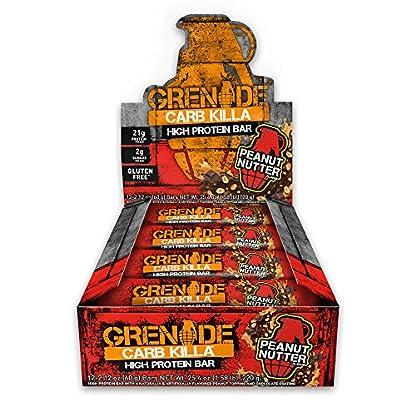 Grenade - Carb Killa Protein Bar Peanut Nutter - 12 Bars 1