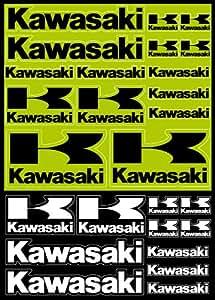 Sticker Autocollant 28x39cm Planche Kawasaki