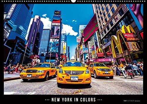 Preisvergleich Produktbild New York in Colors 1 (Posterbuch DIN A4 quer): Die Stadt die niemals schläft, so bunt wie noch nie (Posterbuch, 14 Seiten ) (CALVENDO Orte)