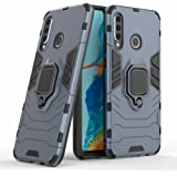 Huawei P30 Lite Case with Kickstand and Hybrid Drop Protection Holder Stand Case Cover for Huawei P30 Lite, Blue