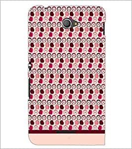 PrintDhaba Pattern D-1900 Back Case Cover for SONY XPERIA E4 (Multi-Coloured)