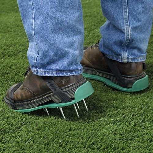 pair-of-garden-lawn-aerator-aerating-spiked-sandals-shoes-new