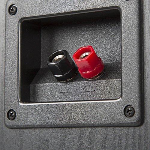 auna Surround Lautsprecher Boxen Set • Surround Sound-System • Heimkinosystem • Bassreflex-Chassis • 335 W RMS • max. 1.150 W Gesamtleistung • Wandmontage möglich • 5 Boxen • inkl. Kabelset • schwarz - 3