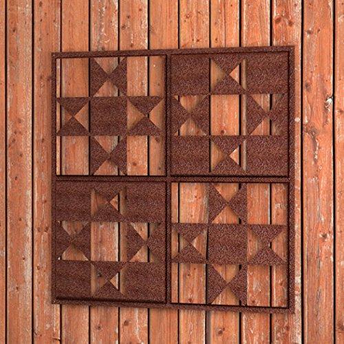 Panacea 8378450,8x 50,8cm Rustikal Rost Quilt Wand Decor -