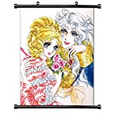 The Rose of Versailles Anime Fabric Wall Scroll Poster (32