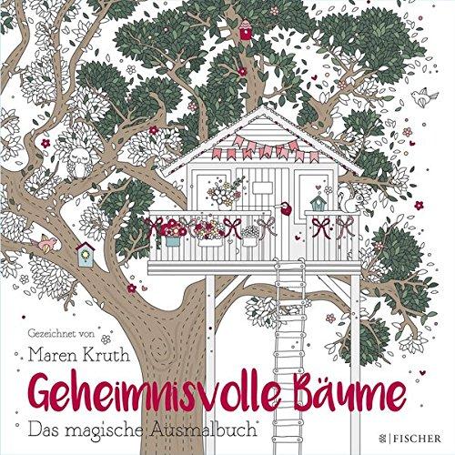 Buchseite und Rezensionen zu 'Geheimnisvolle Bäume: Das magische Ausmalbuch' von Maren Kruth