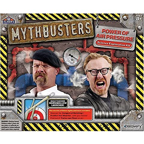 MythBusters Power of Air Pressure Kit building your own marshmallow launcher by MegaDeal