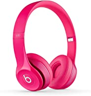 Beats MHBH2AM/A Solo2 Luxe Edition Wired On-Ear Headphone - Pink
