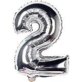 NUOLUX 40 Pouces Nombre Ballon pour Fête Anniversaire Décorations Photo Props-2