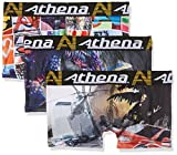 Athena Jungen Badehose Mood, 3er Pack, Mehrfarbig (GRAF/JEU/DRAGON), 6-8 Jahre