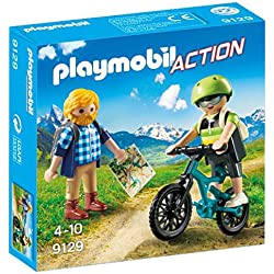 Playmobil Ciclista y Excursionista (9129)