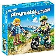 Playmobil 9129 - Ciclista ed Escursionista, 2 Pezzi