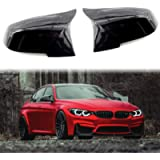 Rearview Mirror Shells Side Wing Mirror Cover Cap Bright Black Pair Fit For BMW F32 F30 F31 F33 F36