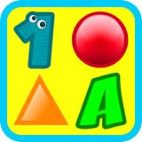 3 Preschool Activities in One App - Fun Educational Kids Games (ABC letters, learn numbers, teach colors, shapes, 123 counting, matching objects and train memory) for Toddlers & Kindergarten Explorers Free