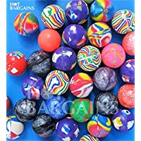 BARGAINS WHOLESALE LTD New 50 Super Bounce Bouncy Ball Jet Balls Children Kids Birthday Party Bag Filler Gift Toy, Comes in Bag of 50PCS, Cheapest Same Day Dispatch for Free