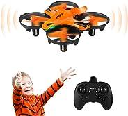 HELIFAR H803 Mini Drone, Drone Control Remoto con función de prevención de Infrarrojos, Control fácil de Gestos, retención de