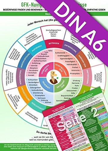 GFK-Navigator für Bedürfnisse (2018) Pocket Edition (DINA6 Format für die Hosentasche) Bedürfnisse finden und benennen - sich verstehen, verstanden werden, Empathie geben - Book Positiven Der Pocket