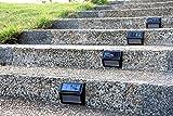 Solar-Powered-Wall-Light4-Pack-Solar-6-LED-Light-Wall-Mount-Garden-Path-Lamp-Step-Lights-Outdoor-Patio-Gutter-Fence-Lighting