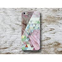 dreiecken Holz Print Handy Hülle Handyhülle für Samsung Galaxy S9 S8 Plus S7 S6 Edge S5 S4 mini A3 A5 J3 J5 J7 Note 4 5 8 Core Grand Prime . . .