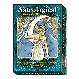 Art Nouveau Astrological Oracle por Antonella Castelli, Estuche con 22 Tarjetas Inspiradoras y Guía Multilingüe