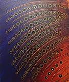 Pintura moderna : rodamientos (46 x 55 cm)