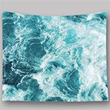 Vintage Mar wavetapestry colgar en la pared Tapiz de impresión mandala indio tapices Hippie Mantel Picnic alfombra Picnic hoja de playa de pared manta colcha 130x 150cm (hyc22)
