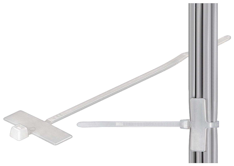 Fixpoint 17095 Kabelbinder mit Beschriftungsfeld, 25mm x 8 mm ...