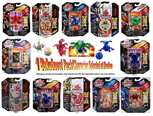 Bakugan Bakuboost (1 Pack Random Selection Colours/Styles Vary)