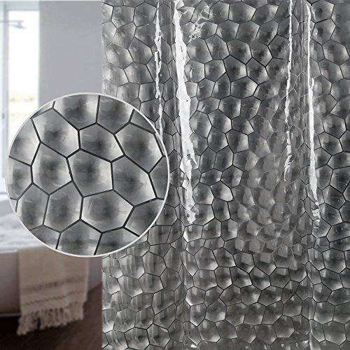 S-ZONE EVA Hohe Qualität Duschvorhang Badezimmer Vorhang - 3