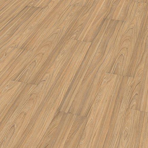 ELESGO S-Klick Laminat Glattkante ( NKL 31 ) Ulme Hell + Wood Texture 1299 x 190 x 7 x mm Ulme Laminat