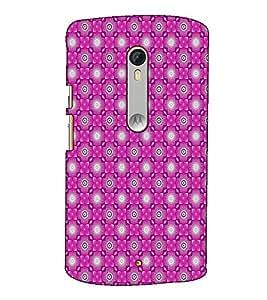 Fuson Designer Back Case Cover for Motorola Moto X Style :: Moto X Pure Edition (Pink designer pattern)