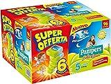 Pampers Sole e Luna Pannolini Junior, Taglia 5 (11-25 kg) - 6 Pacchi da 16 Pezzi