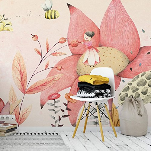 *K&L Wall-Art – Fototapete – Papiertapete – Tapete – Loske – Däumelinchen – Gesamtgröße: 366 cm Breite x 254 cm Höhe – FT-AL-105*